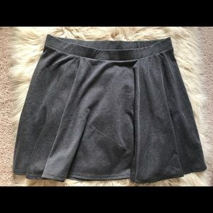Maurice's skater circle skirt. Dark gray. XL